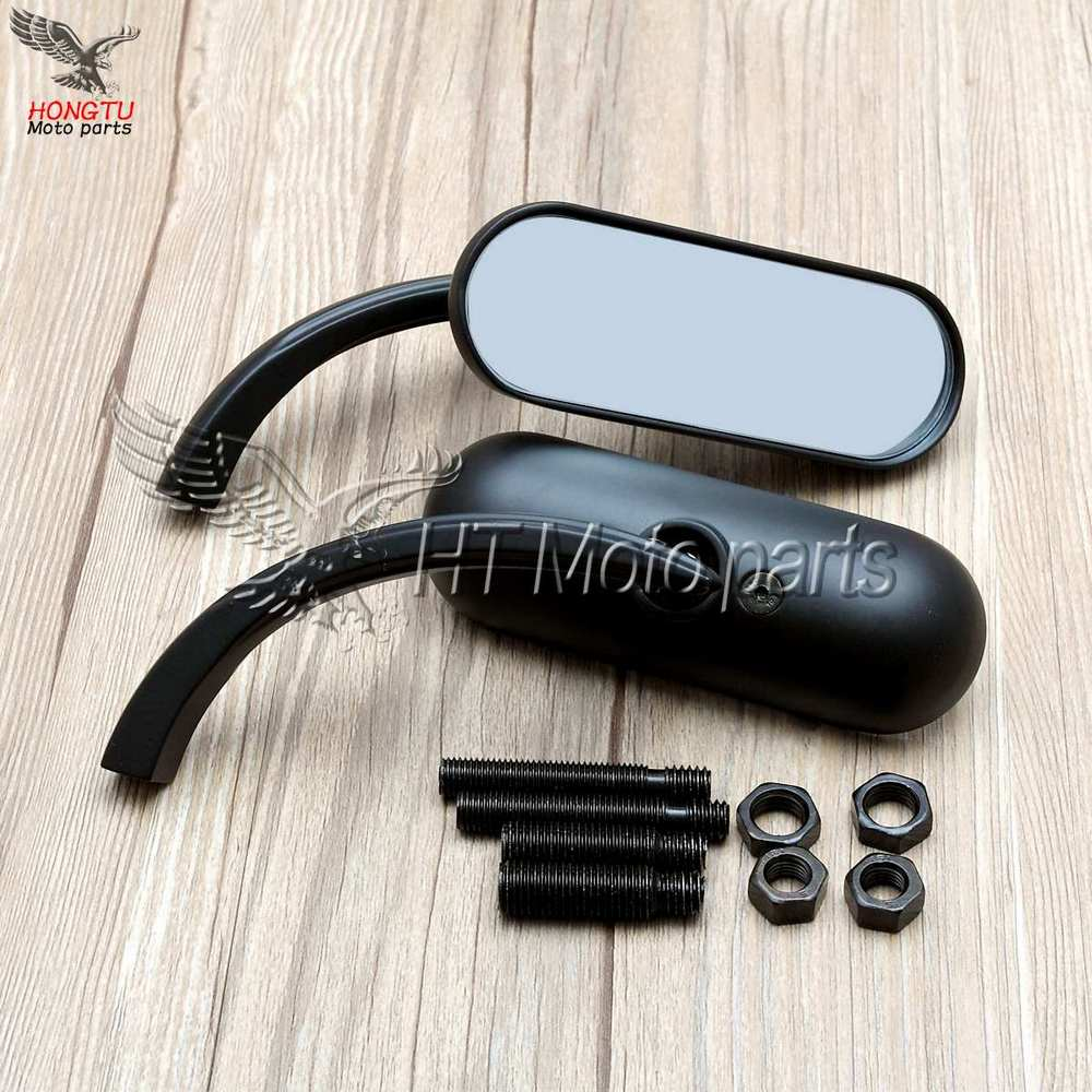 Free shipping Motorcycle modified Rearview mirrors For Harley XL883 1200 XL 883 Fat boy V Road