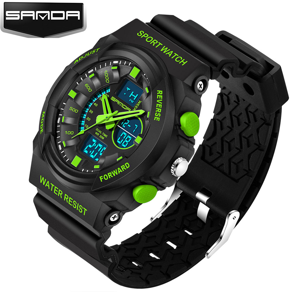 New Army Military Sport Watch Men Top Luxury Brand LED  Wrist Watch Male Clock Digital Watches For Men Hodinky Relogio Masculino sport student children watch kids watches boys girls clock child led digital wristwatch electronic wrist watch for boy girl gift