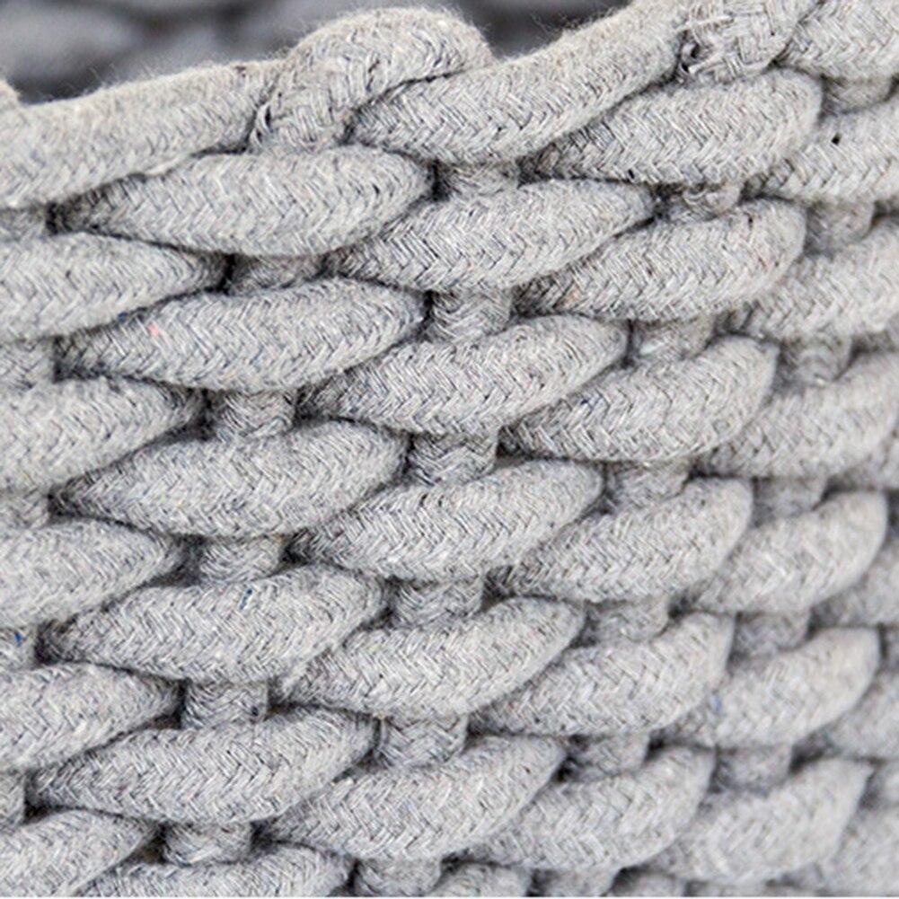 Caja de almacenamiento de cuerda de algodón grueso nórdico ropa ...