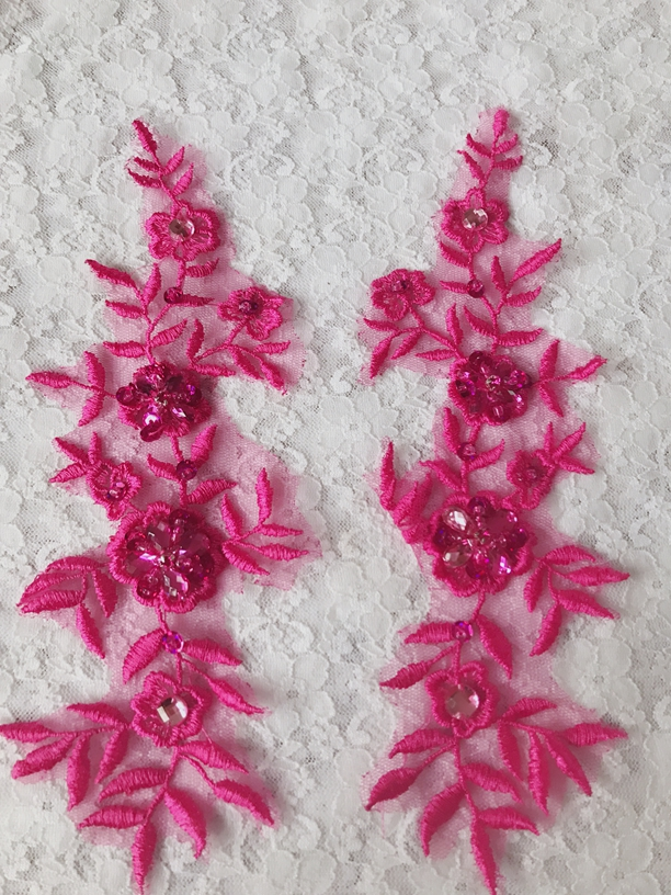 SEW ON String Sequin 5 Mm Rose Paillettes Couture Bordure Garniture