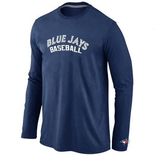 Toronto Blue Jays Long Sleeve T-Shirt D.Blue