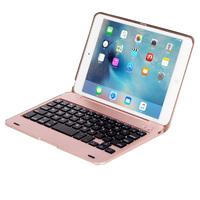 Wireless Bluetooth Keyboard For IPad Mini 1 2 3 Full Body Protective Portable Keyboard Case With