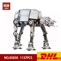 Lepin 05050 AT the Robot War Interplanetary Weapons Behemoth Building Blocks 1137pcs Bricks Funny Children Toys Gift 75054