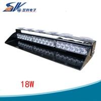 18 W LED Emergency Vehicle Dash Waarschuwing Strobe Flash Light 12 Knipperende modes Kleuren