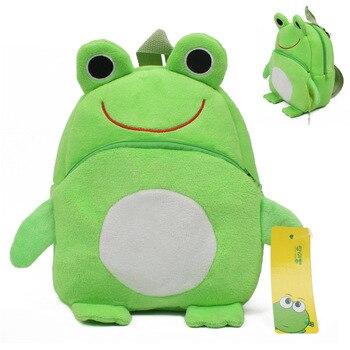 Frog mini schoolbag baby backpack mochila children's shool bags kids plush for Birthday Christmas gift - discount item  5% OFF Stuffed Animals & Plush