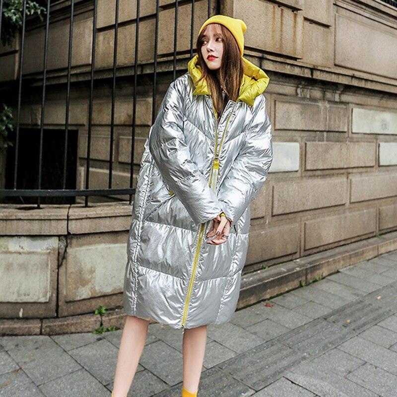 Lh376 Chaud Grande Taille Nouvelle Photo De Qualité Haute Coton Capuchon Tempérament Manteau À Color Long Femmes Moyen Mode qrZqf