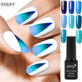 1pcs UV Gel Polish Blue Gel Soak-off Eco-friendly Nail Gel Polish Curing Led & UV Lamp Varnish For Long-lasting Gel Polish