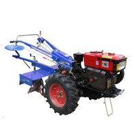 10 hp малый трактор культиватор фрезерный станок для орошать поля