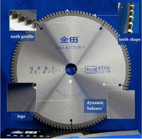 Free Shipping 255 25 4 3 0 120T With Other Sizes Aluminium Cutting Round Saw Blade