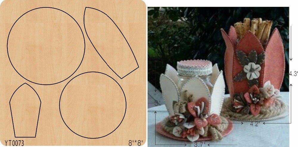 Lotus flower basket DIY wood mold cutting tool die YT0073