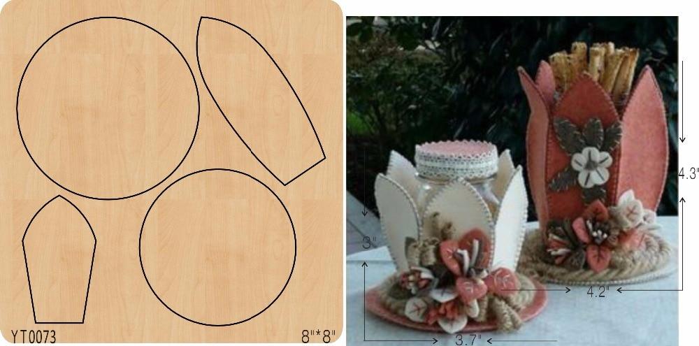Lotus blume korb DIY holz sterben form/schneiden werkzeug sterben/YT0073-in Stanzmesser aus Heim und Garten bei  Gruppe 1