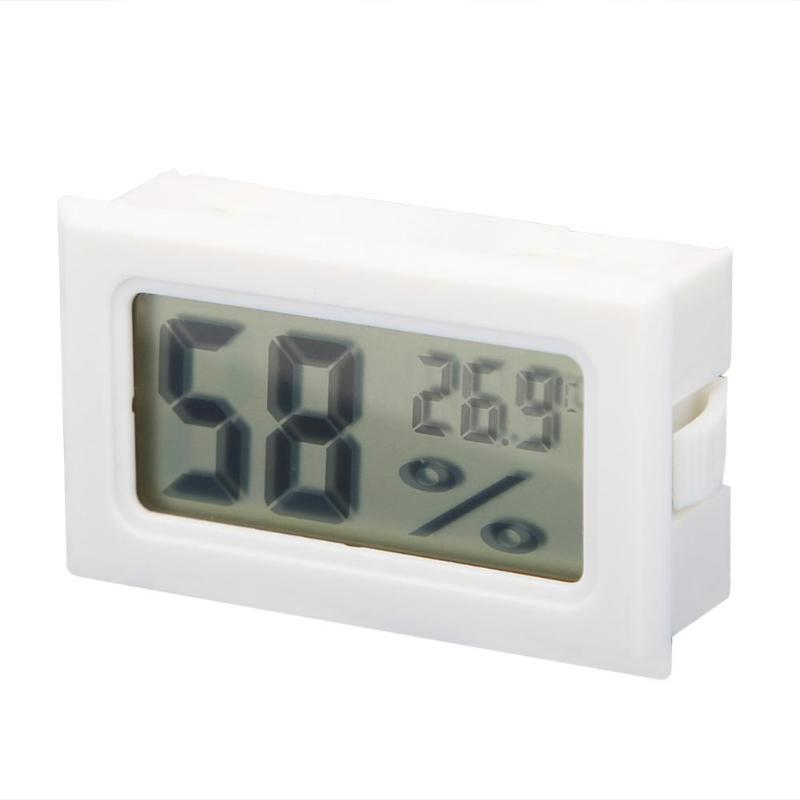 Weather Station Mini Digital LCD Temperature Humidity Meter Thermometer Hygrometer Indoor Room Temperature Sensor