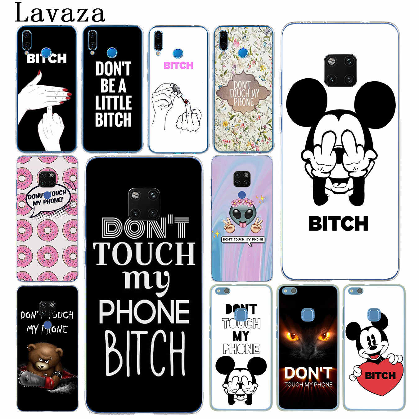 Don t Touch My Phone 20 iphone case
