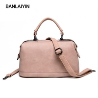 Pop Tide Nice Fashion Handbag Women Simple Autumn And Winter Trends In Europe And America Boston