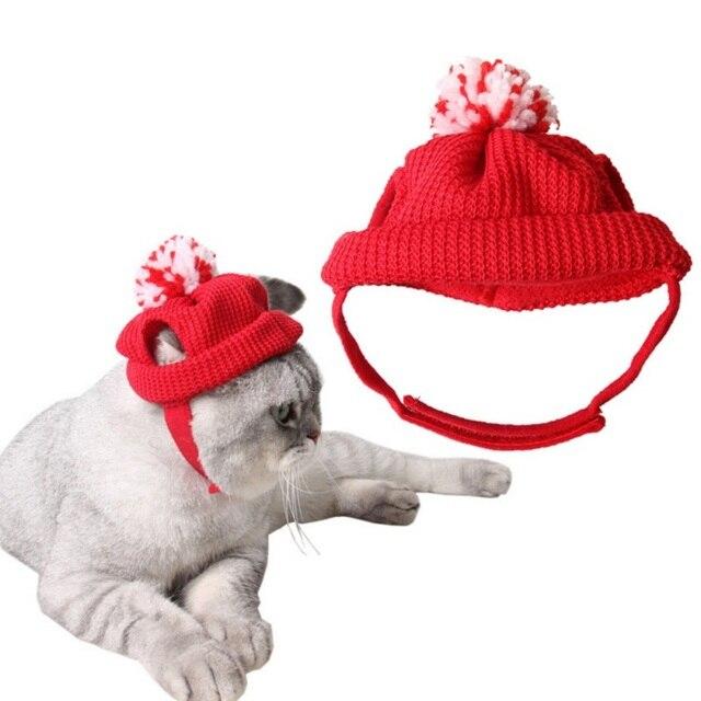 Navidad perro sombreros, gorros, sombreros de Santa Claus traje ...