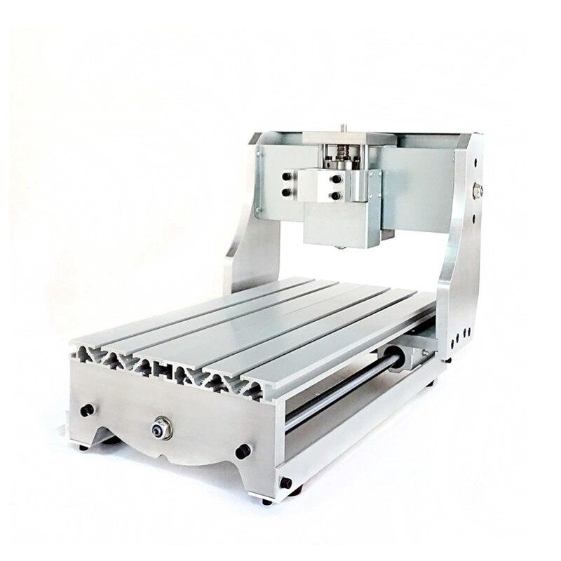 3020 CNC routeur, cadre de CNC bricolage avec vis trapézoïdale pour petite machine de gravure, kit de fraiseuse
