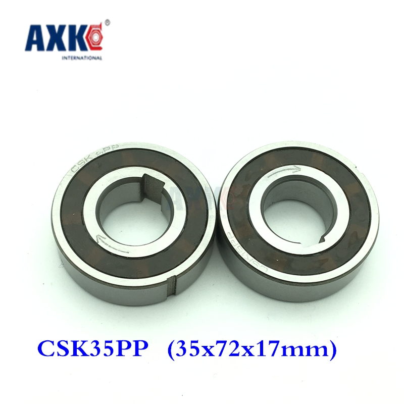2018 Sale Thrust Bearing Csk35pp One Way Clutches Sprag Type (35x72x17mm) Bearings Clutch Freewheel With Double Keyway 1pcs csk40pp one way bearing clutches 40 80 22mm 1 pc with keyway csk6208pp freewheel clutch bearings csk208pp