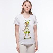 Harajuku Women T Shirt Lovely Fruit Watermeonl Girl Design T Shirt Funny Cotton O-neck T Shirt Women Blusas Femininas L10-a8