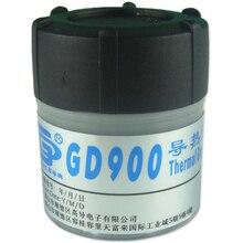 Gd900 30g calor graxa térmica cinza cpu chip dissipador de calor graxa pasta condutora nano composto silicone