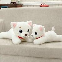 Wholesale New Style Large Size Toys Cartoon God Dog Plush Toys Cute White Dog Doll Stuffed
