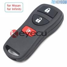 Ersatz Intelligente Fernbedienung Schlüsselanhänger 3 Taste 315 MHZ für Nissan Pathfinder Murano Suche Xterra Infiniti 2002-2009