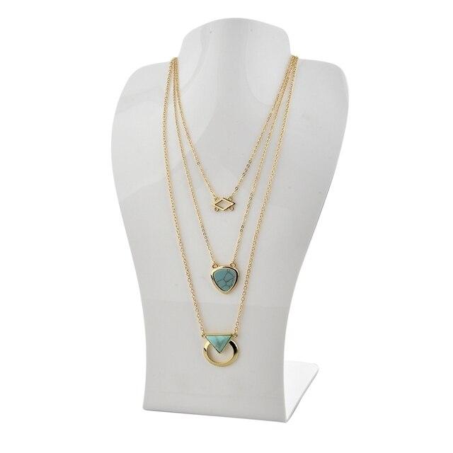 Фото chicvie каменное винтажное ожерелье с подвеской ювелирные изделия цена