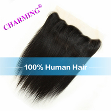 Charming 130% Density Lace Front Closure Brazilian Virgin Straight Hair Ear To Ear 13×4 With Baby Hair No Shedding No Fading