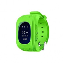 Новый Q50 OLED Экран Смарт-часы детские наручные часы GSM GPRS GPS трекер анти-потерянный SmartWatch для IOS android