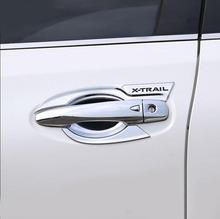 ABS Chrome Car Styling pokrywa do klamki drzwi miska z uchwytem akcesoria do wykończeń samochodowych pasuje do Nissan x-trail T32 2014-2017 2018 2019 tanie tanio 0inch Chrom stylizacja 0 25kg Decoration and protection For Nissan X-Trail T32 Iso9001 2014 2015 2016 2017 2018 2019 7786724