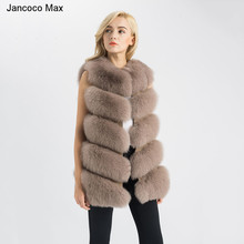 S1571 Wholesale / Retail Real Fox Fur Gilet Women Winter New Fashion Vest Or Lady Coat