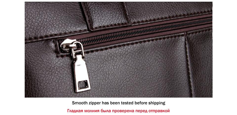 VICUNA POLO, лидер продаж, модная простая мужская деловая сумка-портфель в горошек от известного бренда, кожаная сумка для ноутбука, мужская