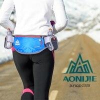 Waist Bag Men women Outdoor sports Running Hydration Belt Waist Bag Pouch Pack Phone Holder with 170ml Water Bottles
