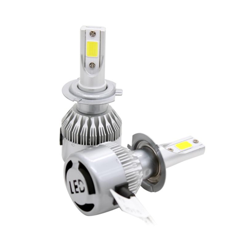 SUNKIA Avtomobil LED fənər C6 COB Chip 30W 3800LM 8-48V DC Auto LED - Avtomobil işıqları - Fotoqrafiya 1