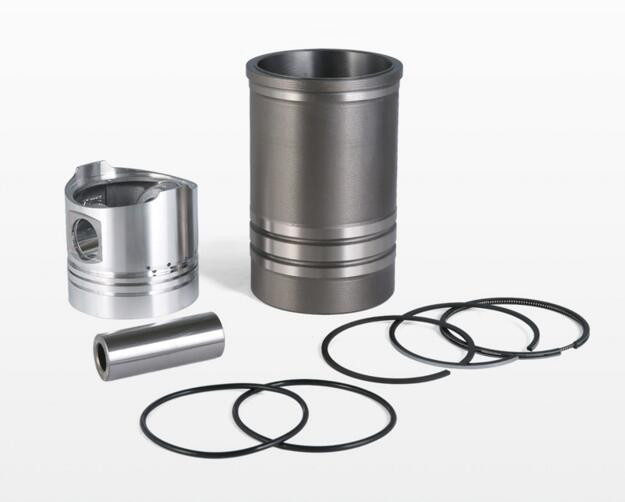 Laidong KM138TD the piston group: piston, piston pin, piston rings and water sealing, the set of gaskets laidong km4l23bt for tractor like luzhong series set of piston groups with gaskets kit including the cylinder head gasket