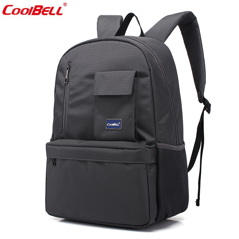 ФОТО High Quality Nylon Backpack Fashion 15.6inch Business Computer Hand Bag School Back pack Laptop Backpack for Women and Men 3308