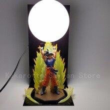 Dragon Ball Z figurines jouets fils Goku Genki damaSpirit bombe bricolage Anime Esferas Del + balle Base