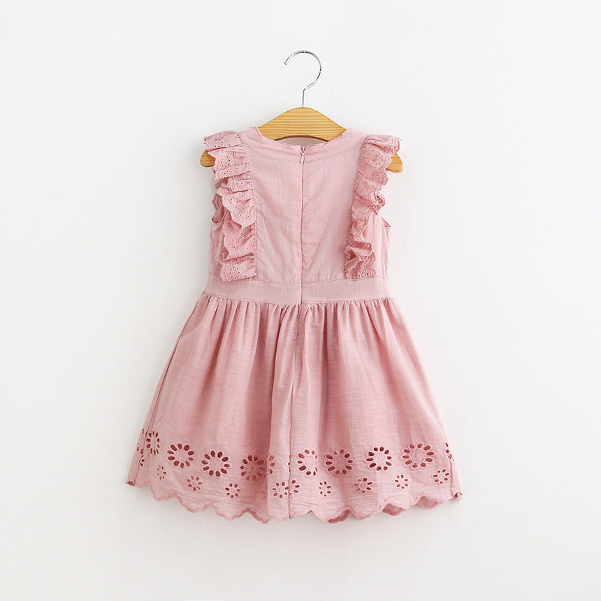 reputable site b01a1 90997 2018-Toddler-Girl-Clothes-Hollow-Sleeveless-Vest-Dress-For-Girls-Pink -Cotton-Summer-Dresses-Brand-Costume.jpg