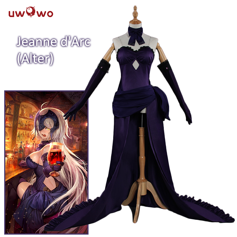 UWOWO Holy Night Dinner Jeanne D'Arc Cosplay Game Fate Grand Order Cosplay Anime Fate/Zero Costume Fate/Apocrypha Jeanne