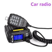 100% 원래 qyt KT 8900D 듀얼 밴드 쿼드 차량 자동차 라디오 136 174/400/480 mhz 모바일 라디오 트랜시버 차량 음소거
