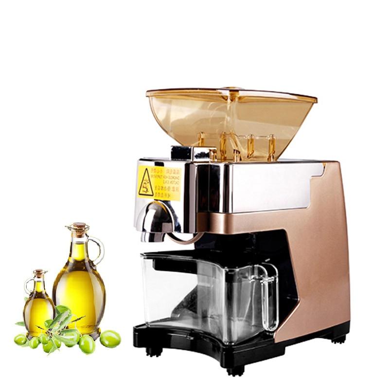 BEIJAMEI Mini Oil pressing Machine Peanut Home Use Oil Pressers Electric sunflower seed Walnut kernel Oil Press Machine цена