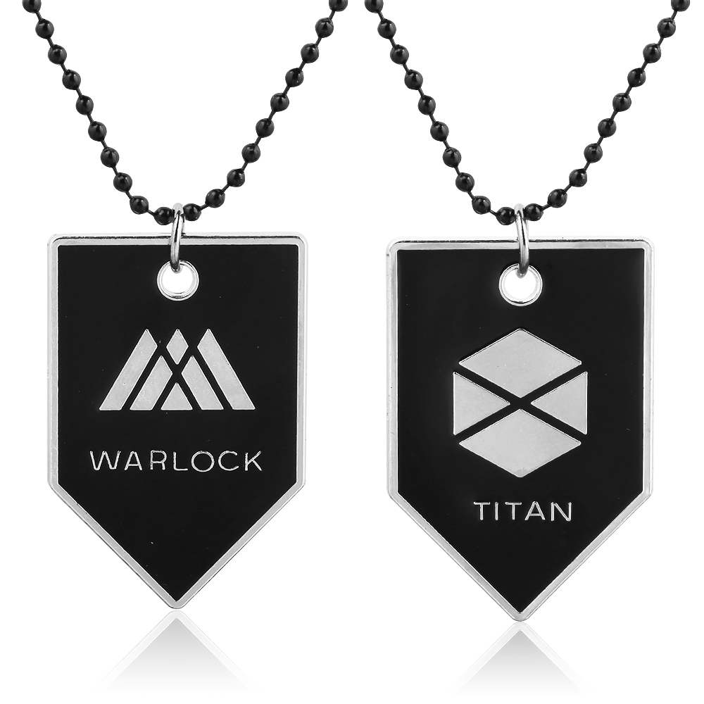 Online Game Around JEWELRY Destiny WARLOCK, TITAN, Beads Chain Necklace Division Pendants Necklaces