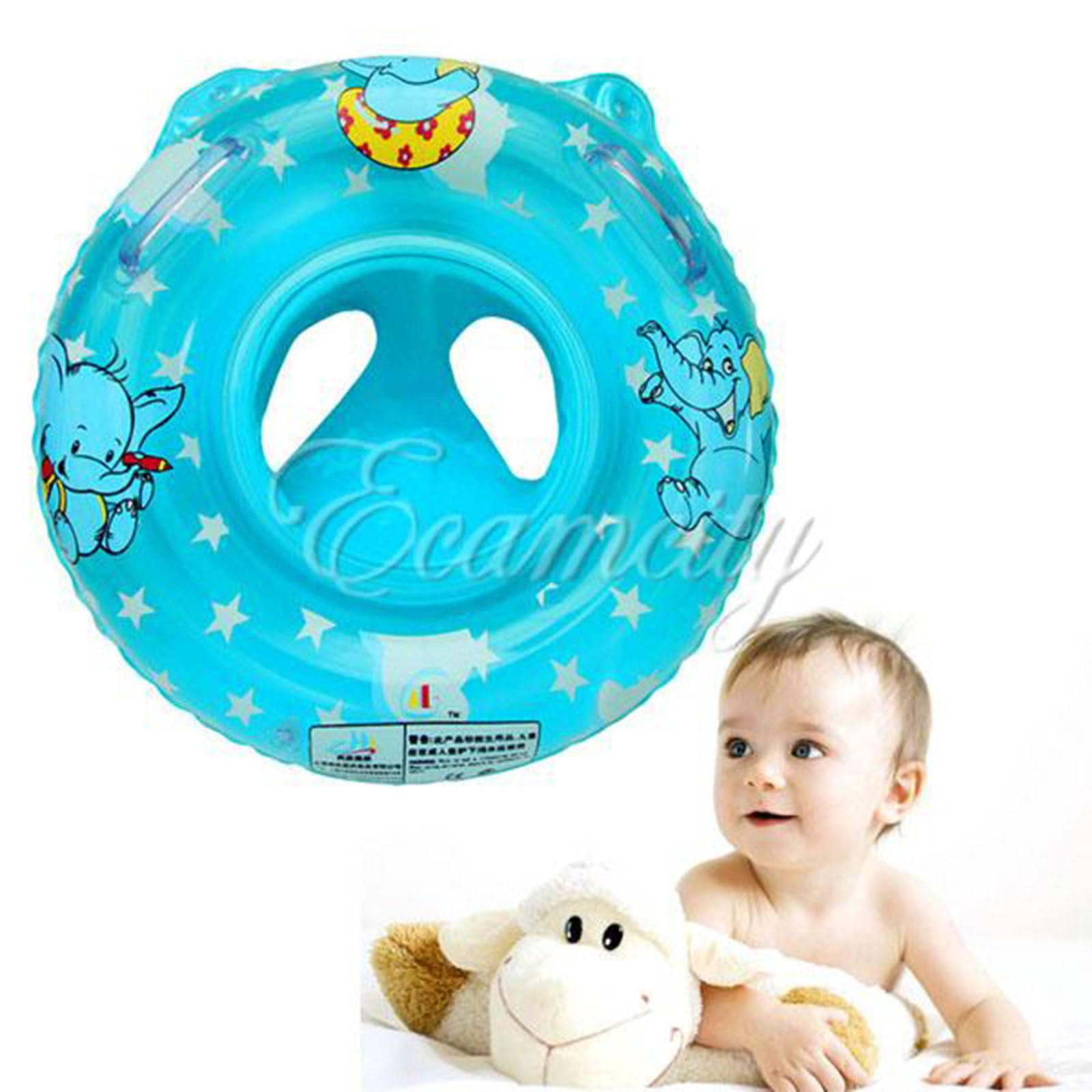 New Baby Child Inflatable Pool Water Swimming Toddler Safety Aid Float Seat Ring