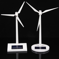 Nouvelle arrivée BRICOLAGE Solaire modèle de moulin à vent jouets En Plastique Assemblé Modèle 3D Puzzle de Montage Solaire Alimenté Moulin À Vent Meilleur Cadeau Pour Les Enfants