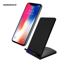 ROROBICO 5 V/2A QI Snelle Draadloze Oplader Voor iPhone 5 5 S 5C SE 6 6 S 7 Plus Qi-Apparaten Lader Voor iPhone X 8 8 Plus