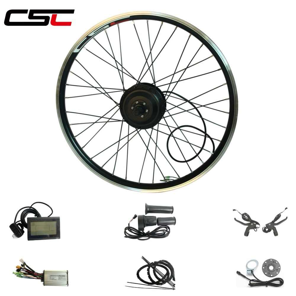 Electric bike Conversion Kit Bluetooth 36V 250W 350W Hub Motor For 20-29inch 700C Ebike kit front Wheel Motors With LCD Display