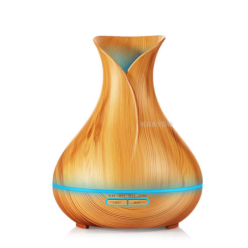 400 мл увлажнитель Электрический Арома эфирное масло диффузор увлажнитель воздуха эфирные масла светодиодный свет очиститель воздуха для домашнего офиса