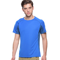 Mens Summer Thin Section 6 Min Quick Drying Super Stretch Good Breathable T Shirts Outdoor Sportswear