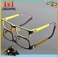Tr90 criança óculos de marca quadros praça óculos de lente armação de óculos de Grau armação DD0792