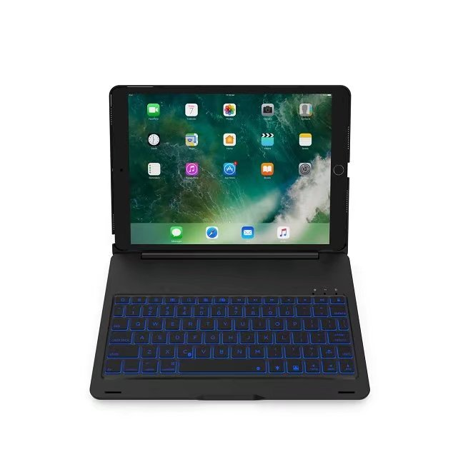 grassroot aluminum tablet case multi function removable wireless bluetooth keyboard for apple. Black Bedroom Furniture Sets. Home Design Ideas