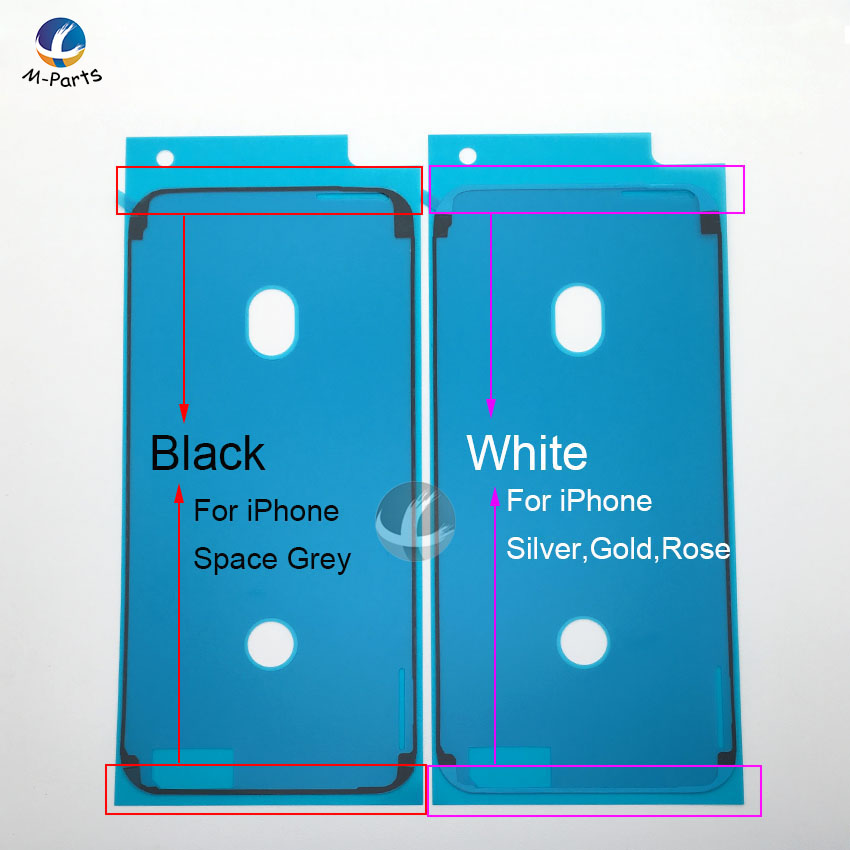 1pcs Waterproof Sticker For IPhone 6S Plus 7 Plus 8 Plus X XS XSM XR LCD Display Frame Bezel Seal Tape Glue Adhesive Repair 3M